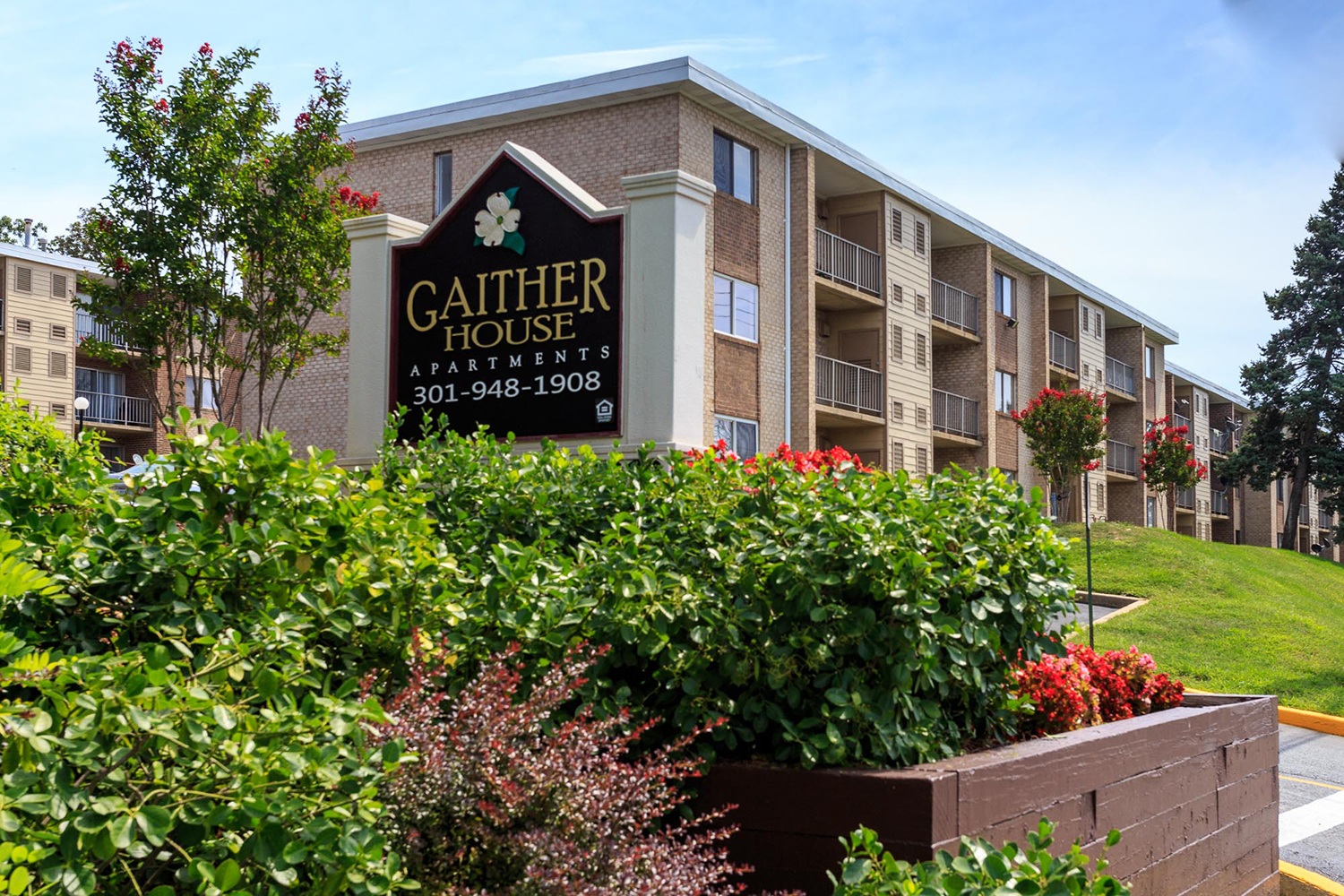 GaitherHouse Apartments Header